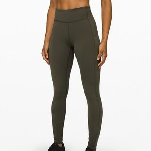 Lululemon Green Speed Up Tight 28""